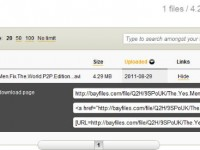 Bayfiles – новый файлообменный сервис от создателей The Pirate Bay