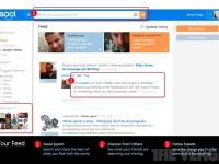 Microsoft тестирует собственную социальную сеть