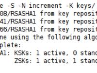 Внедрение технологии DNSSEC на примере домена nox.su