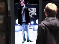 Виртуальные обувные примерочные на вокзалах Германии