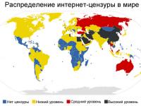 "Инфографика: ""И снова про цензуру в Интернете"""