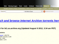Добро пожаловать в крупнейший торрент-архив