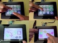 Инженеры разрабатывают многопользовательский мультитач-дисплей