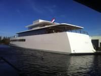 На воду спущена яхта Стива Джобса — последнее из его творений