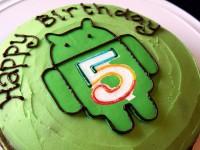 ОС Android исполнилось 5 лет