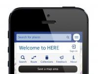 Nokia запустила собственный картографический сервис