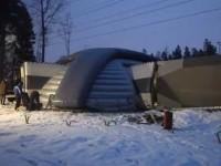 Надувной «космический» датацентр из Швеции
