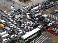 Мобильная связь помогла обнаружить причину дорожных пробок
