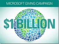 Благотворительность от Microsoft – $105 млн. от рядовых сотрудников