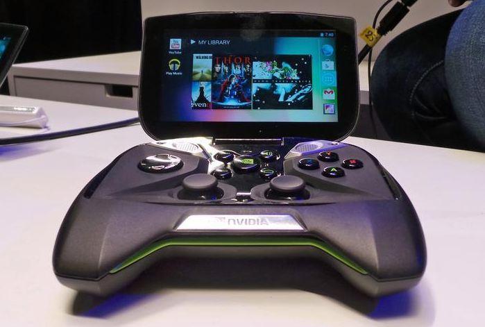Портативная игровая консоль NVidia Project Shield