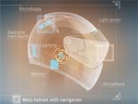 На основе концепции Google Glass инженеры создают мотоциклетный шлем