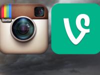 Видео в Instagram и в Vine: найдите десять различий