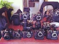 """Фотограф создал """"симфонию Nikon"""" с помощью звуков фотоаппаратов"""