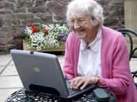 75-летняя шведка выходит в Сеть на скорости 40 Гбит/с