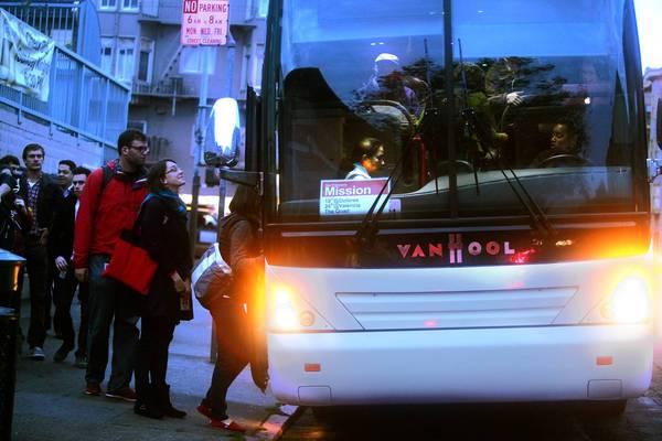 Корпоративный автобус Google - бельмо на глазу жителей Сан-Франциско