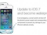 Операционка iOS 7 так и не сделала iPhone водонепроницаемым