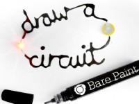 Ручка Electric Paint Pen умеет рисовать микросхемы