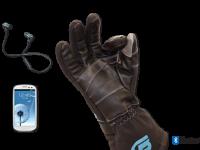 Электронные перчатки умеют управлять телефоном