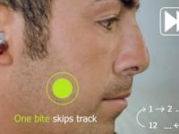 Аудиоплеер подчиняется командам, которые пользователь отстукивает зубами