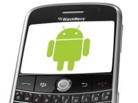 После обновления BlackBerry OS будет работать с приложениями для Android