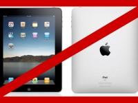 Правительство Великобритании, опасаясь слежки, запретило iPad