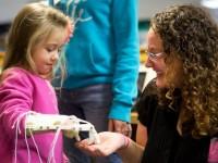 Студенты распечатали на 3D-принтере протез для 4-летней девочки