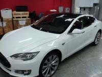 В Украине купили первый электромобиль Tesla Model S