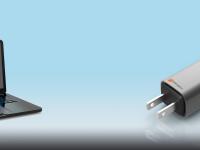 Создан миниатюрный блок питания для ноутбука