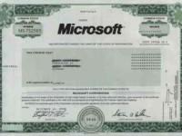 Стоимость акций Microsoft достигла рекордной отметки