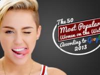 Google назвал самых популярных женщин в Интернете