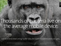 Corning представила антибактериальную версию стекла Gorilla Glass