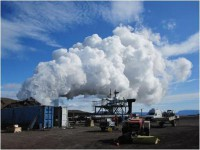 В Исландии заработала первая в мире геотермальная энергостанция
