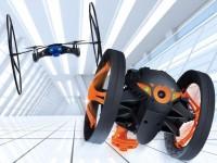 Parrot представила мини-квадрокоптер и прыгающий дрон-насекомое