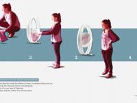 Футуристическая стиральная машинка Electrolux работает без света, порошка и воды