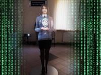 В отделении ГАИ установили голограмму для общения с посетителями
