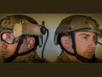 «Умный шлем»  с дисплеем в реальном времени показывает солдату данные о противнике