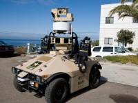 Морская пехота США тестирует автономного боевого робота-караульного