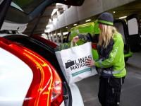 Volvo представила систему доставки товаров в автомобиль