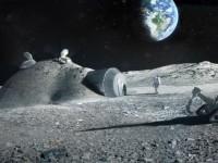 NASA планирует распечатывать лунные базы на 3D-принтере