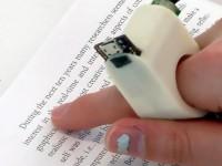 Электронное кольцо «зачитывает» вслух книги для людей с плохим зрением