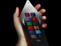 Электронный галстук меняет расцветку и транслирует текст сообщений