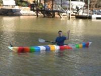 На воду спустили первую в мире байдарку, детали которой распечатаны на 3D-принтере
