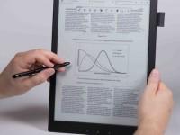 Sony представит гибкую «цифровую бумагу» формата А4