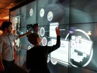 В Лондоне показали рабочие сенсорные интерфейсы для офиса будущего