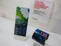 Kyocera создала гибкий телефон-браслет, который умеет мерять пульс человека