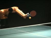 Бывший чемпион мира по теннису обыграл робота в пинг-понг