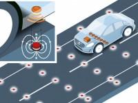 За безопасность движения беспилотников Volvo будут отвечать магниты на дороге