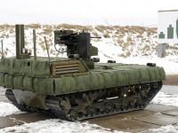 Российская армия испытывает боевую робототехнику с дистанционным управлением