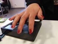 Шведы запустили систему идентификации пользователя по рисунку вен на ладони