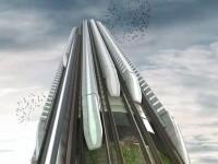 Британцы спроектировали вертикальное метро для езды по небоскрёбам